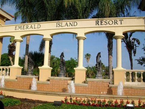 Emerald Island Resort Is A Prestigious Gated & Guarded Community Located On The Doorstep Of The Walt Disney World Resort. Surrounded By A Conservation Area, It Encompasses Over 300 Acres With 11 Heavily Wooded Acres In The Middle Of The Resort.  Emer...