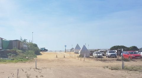 Front line beach hotel plot of land, one of the sought after area for holiday makers and surfers in Cadiz, up going area, the right time to invest in this area, nice white beaches, paradise for surfers. Permit to build 5.000 sqm and 165 rooms.