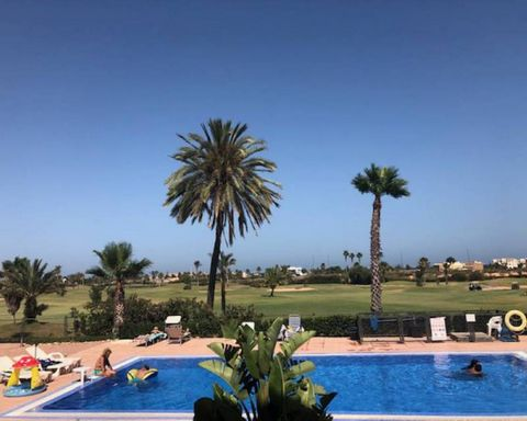 A very charming ground floor apartment in the beautiful Serena Golf resort, with two double bedrooms and 2 bathrooms, direct access to the pool from the living room, stunning views over the golf course with the sea in the distence. This apartment has...