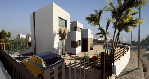 Entrenatura is a new concept of luxury villas, located in the nice area of Polop.Polop is an interior municipality located north of Alicante. It is characterized for being a quiet place, but with a lot of social life, shops and restaurants of all kin...