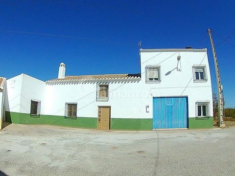A two storey Casa Cortijo for sale in the peaceful hamlet of La Yegua here in the northern part of Almeria Province.The property has been well maintained and is in good condition throughout . On the ground floor there are two bedrooms,a bathroom with...