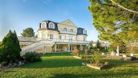 This stately villa, kept in