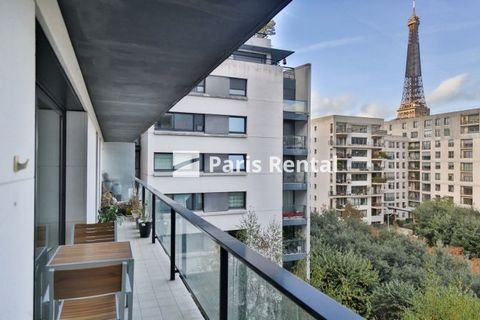 Welcome to this lovely Parisian apartment in the 15th district of Paris . The huge balcony offers an amazing view of the Eiffel Tower and the beautiful garden - Square Nicole de Hauteclocque. This apartment comprises one bright living room, three coz...