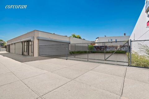 This is a great commercial building, on a prime corner, located on Rockaway Blvd. This property has a lot of potential, and the zoning allows you to build a massive mixed use property with residential units. The property is currently a one story buil...