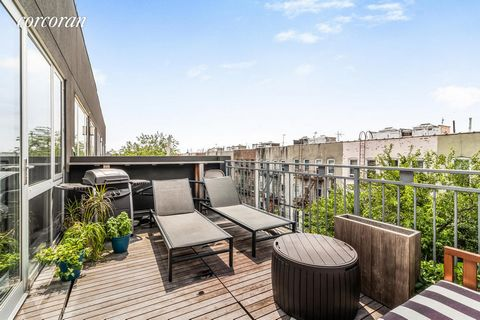 All open houses are by appointment only Welcome to 18th Ward Condo Development. This is a modern spacious 4th floor 1 bedroom, 1 bath, penthouse pet friendly apartment with a private terrace, beautiful modern kitchen, glossy white cabinets, stone cou...