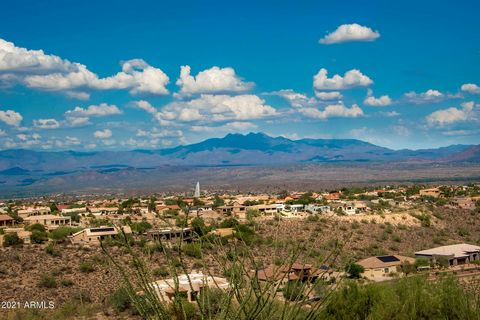 4+ acres with spectacular Mountain View's from McDowell mountain to Four Peaks mountain range. Located in the private gated community of Crestview with quick and easy access in and out of town.
