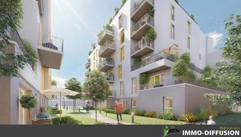 Mandate N°FRP128628 : NEW 3 ROOM APARTMENT CONSISTING OF LIVING ROOM, KITCHEN, 2 BEDROOMS, BATHROOM, SEPARATE WC AND A PARKING SPACE IN THE BASEMENT. BALCONY OF 6 M². NORTH WEST EXPOSURE. DELIVERY 4 QUARTER 2022 QUIET RESIDENCE CLOSE TO SHOPS AND INF...