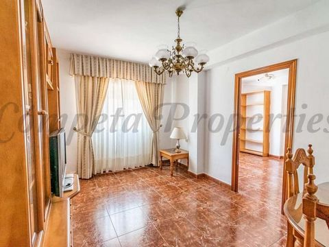 This is one of our apartments with easy access in the white town of Torrox. On the sixth floor of a building with an elevator and with public parking very close by, this apartment consists of an entrance, a fully equipped kitchen, a spacious and brig...
