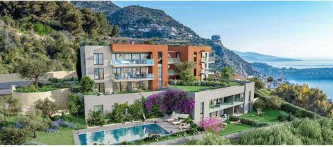 Beausoleil French Riviera Luxury apartment with SEA VIEW: We offer you this 3 room apartment in a new building of only 11 units in a green setting overlooking the sea, the Odeon Tower and Monaco. Last lot in 3 rooms (please contact us for the last 4 ...