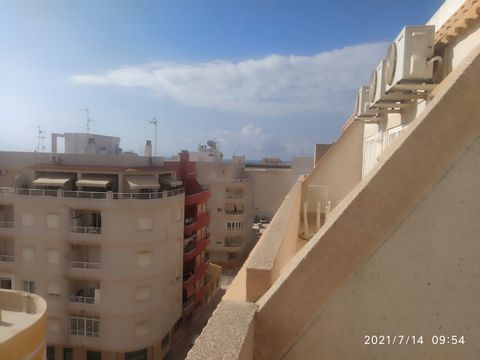 New long term rental – Viewings on request. One bedroom penthouse apartment for rent in an excellent location. Calle Los Molino, Torrevieja, Alicante, Spain Map link: https://www.google.com/maps/place/Apartment+Los+Molinos/@37.9844301,-0.6820395,15z/...
