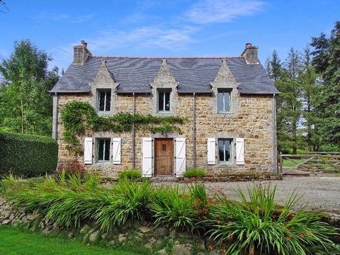 Ref. JD-3231 This stunning 3 bedroom cottage has been lovingly restored, it is set in a beautiful setting of 16 209m2 comes with its own woodland and a stream going through edge of their land. It also has four detached buildings and two of these has ...