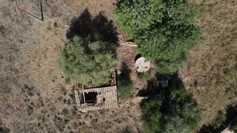 Located in Moncarapacho. Big Plot of 21880m2 with a house of 158m2 to recover in the countryside. Traditional architectural features of the region. This plot is very well located, just 5 mins from Moncarapacho and 10 mins from Fuseta.
