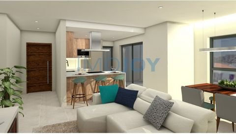 2 bedroom apartment under construction for sale Composed of Living Room with OpenSpace Kitchen with 27m2 with Balcony, 1 suite, 1 bedroom and full bathroom. there is also garage in box. Development under construction with a Premium location next to t...