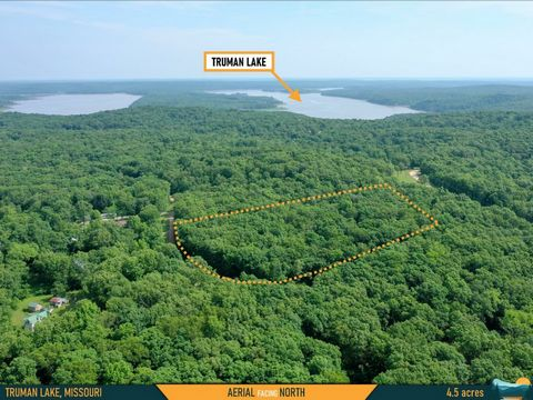 Located in Osceola. Cheap Land In Missouri – near Truman Lake If you're ready to get away from all the stresses of urban life, cut out a little slice of country for yourself here near Missouri's largest lake — Truman Lake. Truman is a fisherman's dre...