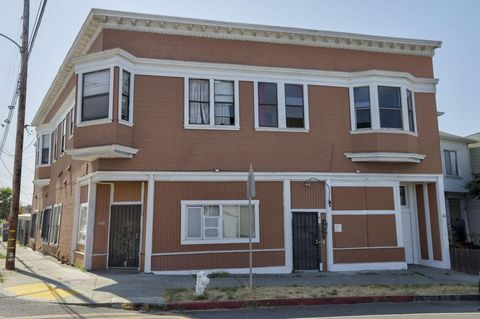 Huge 6,160 square foot Apartment Building broken up into 7 Units With Super Upside Potential! Centrally located near Fruitvale Bart Station and Peralta District neighborhood. Offered at Attractive $157,000 per unit! This property has significant rent...