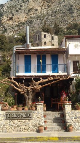 Euroresales Property ID – 9825193 Property information: Enjoy relaxing living in a beautiful 85m2 stone built two-bedroom house, directly above a sweet traditional taverna, in the town of Spili Rethymno Crete. This property comes with all furniture a...