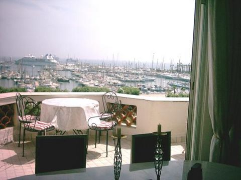 Appartement 3 pièces vue mer, Croisette