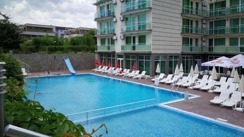 "KC Properties is pleased to offer you this fully furnished apartment situated in a residential complex ""Clara"". Distance to the sea is about 200 m. The complex is situated in the well developed neighborhood Sarafovo, which is part of Burgas city and ..."