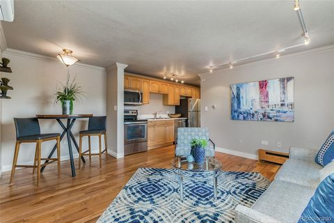 Great Location in Alamo Placita (6th Ave and Washington)! Top Floor, End Unit Condo (with a peek at the mountain tops), first time available in 14 years! LIVES LARGE! Off Street Parking Space and Storage Locker. This unit has just been Painted Top to...