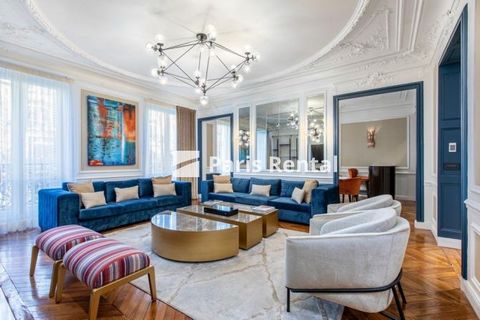 This luxurious and stylish apartment is on the 5th floor of a beautiful 1900' stone building. It is equipped with 4 stunning bedrooms, a spacious living room, a fully equipped kitchen, 2 bathrooms, a shower room, and 3 toilets. The home has been tast...