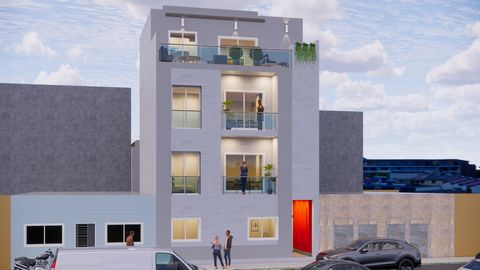 2 bedroom apartment, under construction, with great areas and high quality finishes. Located on the 1st floor. Open-space kitchen fully equipped with high-end appliances. Apartment equipped with air conditioning and solar panels. Suspended ceilings w...