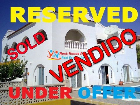 !!! Innovation Property 14 !!! Next House Almeria presents in La Perla/ Arboleas , province of Almeria a spectacular villa with 4 bedrooms, very well built and ready to move into. The villa extends on a larger plot of land than usual in the area, jus...