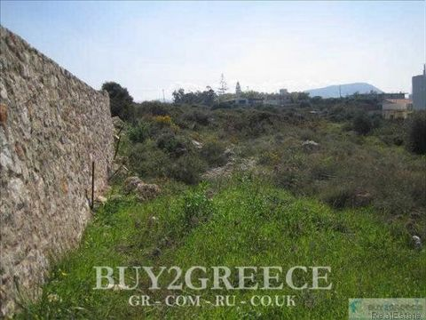 B840 - FOR SALE PLOTS (2) OF 4304sqm AND 7535sqm, 135000 AND 210000 EURO, BUILDABLE, BUILDING COEFFICIENT=10%, IN SETTLEMENT ZONE, PARTED BY HERAKLION-HERSONISSOS OLD NATIONAL ROAD, 500m FROM BEACH, AGIOS IOANNIS, HERSONISSOS, HERAKLION - CRETE::Sett...