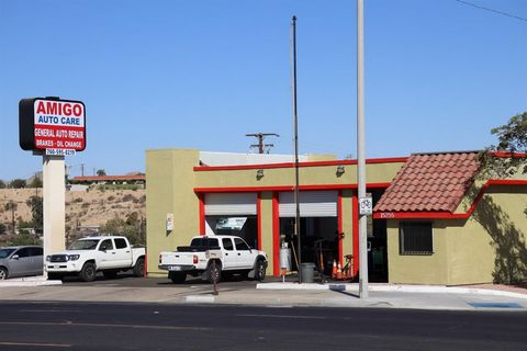 This is an amazing business opportunity to own the successful Amigo Auto Care on 7th Street near Mojave Drive. Amigo Auto Care has a 9 year history of friendly costumer service and repeat clients established by this founding owner. Amigo Auto Care ha...