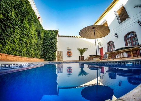 Rural Hotel with 3 Gold Stars classification and a capacity of 18 guests in 8 double rooms with bathroom.~ ~ Located in Almagro in Castilla - La Mancha (Ciudad Real - Spain) in the historic centre, very close to the Madre de Dios Church. The property...