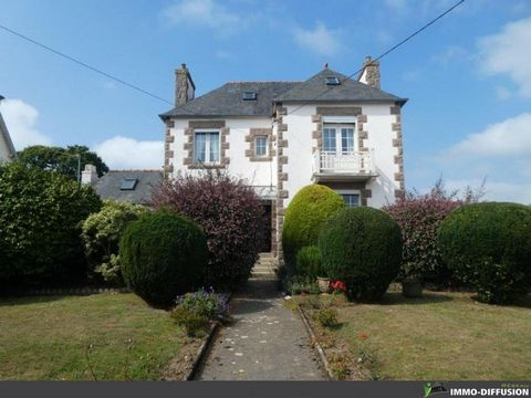 Mandate N°FRP136260 : House approximately 100 m2 including 5 room(s) - 2 bed-rooms - Garden : 1400 m2, Sight : Garden . Built in 1930 - Equipement annex : Garden, Balcony, double vitrage, cellier, Fireplace, combles, - chauffage : electrique - Class ...