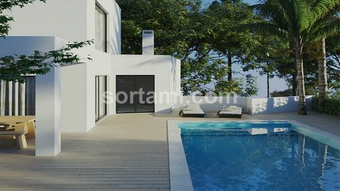 Magnificent three bedroom villa with stunning views. This amazing house consists of two floors plus basement. The first floor consists of a generous living and dining room with open plan kitchen, pool and sea views, two bedrooms and a guest bathroom....