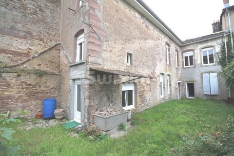 Ref 63912 AP. Rambervillers, Building whose work is to be completed. New framework and roof, double glazing electricity to be completed, great potential. Possibility of creating 6 apartments on three levels in plateau of approximately 100m2. School a...