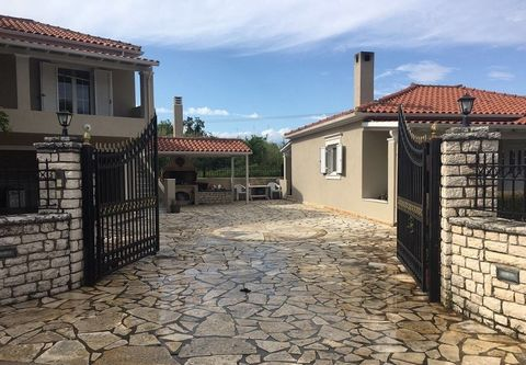 For sale residential complex, which consists of two separate houses in Perama, Corfu. Plot of land is  715 sq.m. The first house is 88.29 sq.m. The second is 60.5 sq.m. Both houses consist of a living room combined with a kitchen, two bedrooms and a ...