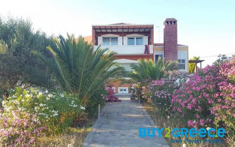 Pyli-Kos Maisonette 334sq.m. Price negotiating is possible: Yes Listing type: Residential Year built: 2005 Number of bedrooms: 6 Number of bathrooms: 3 Garage: 1 car Living space: 335 m2 Price per meter: 1791 €⁄m2 The area of the land/lot: 3625 m2 Fl...