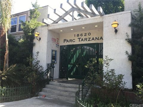 New on the Market! Park Tarzana condo! Gated community! Move-in Ready! Freshly painted interior! 2 bedroom, 2 bathroom condo in prime Tarzana location, close to all. 101 freeway access very close. This ground level unit is unique in that the 2 car ta...