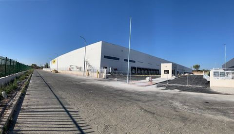 Logistic Warehouse for rent in Alovera, with 20,348 m2 and Loading Dock.