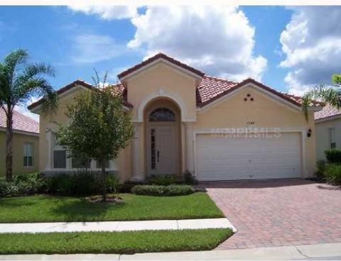 ENJOY THIS IMPECCABLE HOME WITH A LARGE SOUTH FACING POOL AND SPA. HUGE COVERED LANAI. POOL BATH AND DIRECT ACCES FROM MASTER ON TO POOL AREA. THIS HOME IS PERFECTLY FURNISHED AND UPGRADES INCLUDE OVERSIZED FLAT SCREEN TVS. GREAT FLOORPLAN. TUSCAN HI...