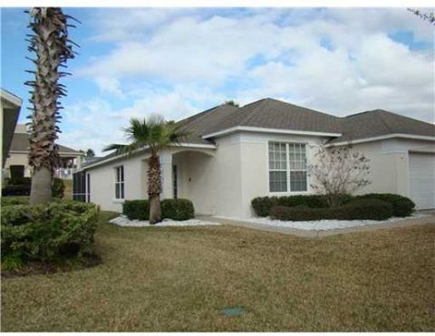 Nicely located property in the gated community of Southern Dunes Golf and Country Club. This is a fully furnished 4 bed/ 3 bath home with recent homeowner upgrades which include tile and hardwood throughout. The open floor plan lends itself to easyen...