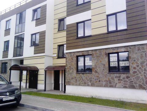 Продается доля(1/2) в новой однокомнатной квартире в новом доме ЖК