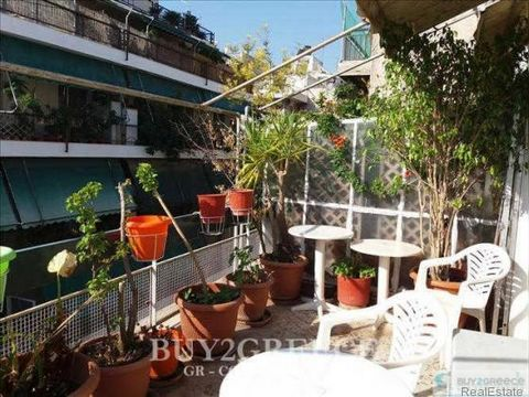 862 - FOR SALE APARTMENT OF 87sqm, RENOVATED IN 2008 WITH NEW PLUMBING AND WIRING, CENTRAL NATURAL GAS HEATING, ALUMINIUM WINDOW FRAMES, IN VERY GOOD CONDITION, NEO PAGRATI, ATHENS - ATTICA::Yes - Patio - Elevator - Built in Wardrobe - Ventilation/Ai...