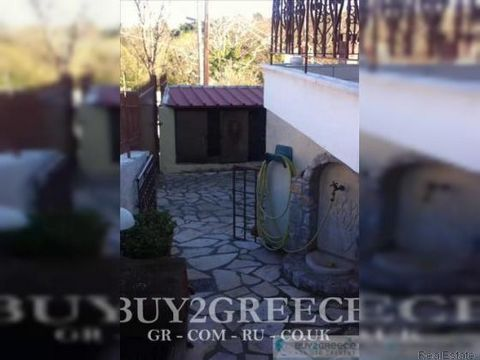 800 - FOR SALE HOUSE 375m2, IN PLOT OF 230m2, COMPOSED OF BASEMENT, GROUND FLOOR AND 1st FLOOR ( WITH ATTIC ) OF 125m2 EACH OF THEM, DISTANCE FROM THE SEA 15km, DISTANCE FROM ATHENS, MIKROHORI, KAPANDRITI, ATIKIS::Fireplace - Newly Built - Bathhouse ...