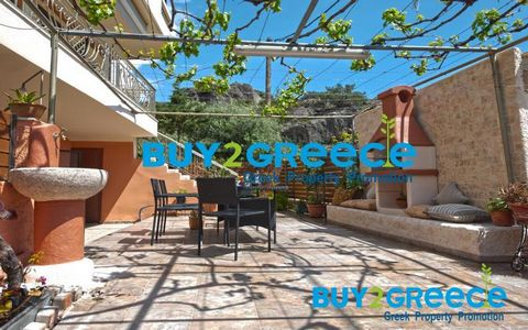 Maisonette, Makris Gialos 150 sq.m. Price negotiating is possible: Yes Listing type: Residential Year built: 1999 Energy efficiency class: C Condition: Newly renovated Number of bedrooms: 3 Number of bathrooms: 2 Garage: 1 car Living space: 150 m2 Pr...