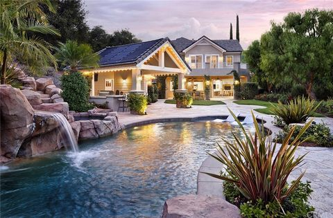 Stunning and Private 2.35 acre Custom Estate in the prestigious and gated golf course community of Coto de Caza with 6,600 sq ft of living space. Entering the neighborhood, you'll be impressed by the gorgeous custom homes and feel of the neighborhood...
