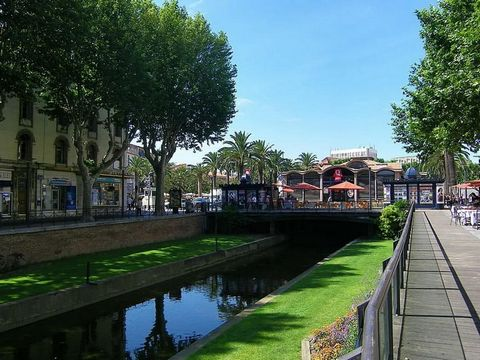 66000 PERPIGNAN - CASTILLET - BUREAUX 530 M2 - Efficity the agency that estimates your property online offers you 2 minutes from Castillet, a rare product in the heart of the city centre along the Bass, a set of offices with an area of about 426 m2 o...