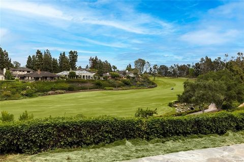 Behind the guarded-gates of Big Canyon, this desirable home is settled on an oversized lot, with some of the best golf course views Big Canyon has to offer. When entering the recently remodeled home with beautiful sand dollar maple floors, you are in...