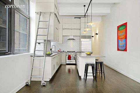 This Stunning loft awaits you at Turtle Bay Towers, in the heart of Midtown East. 5V, is architecturally designed and completely renovated. A corner unit with windows provide double exposures, along with 12.5 foot ceilings and southern exposure allow...