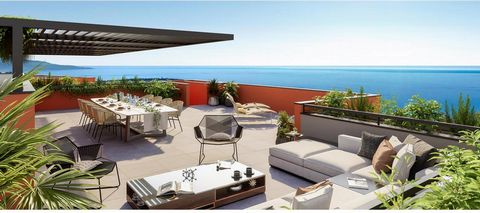 Beausoleil Luxury Apartments with SEA VIEW: We offer you the last 4 room apartments of this new building of only 11 units in a green setting overlooking the sea, the Odeon Tower and Monaco. This announcement is not precisely that of an apartment in p...