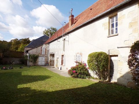 We offer you this real estate complex TO REHABILITATE. Located 5 minutes from BEAUMONT DU GATINAIS in a quiet area. Don't forget to watch our 'VIDEO SPOT' for a Virtual Tour. Kitchen, living room, office, bedroom, bathroom with toilet. 2 convertible ...