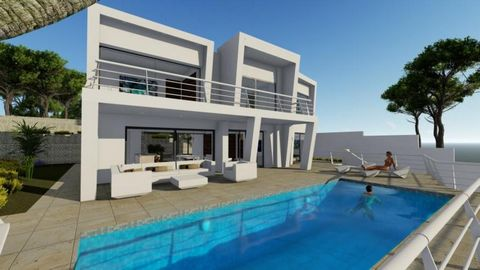 Modern design villa located in Benissa, with a plot of 953 m2. On the ground floor of the house there is a large living room with open kitchen and the master bedroom with bathroom en suite. On the same floor is the pool with terrace and chill out are...