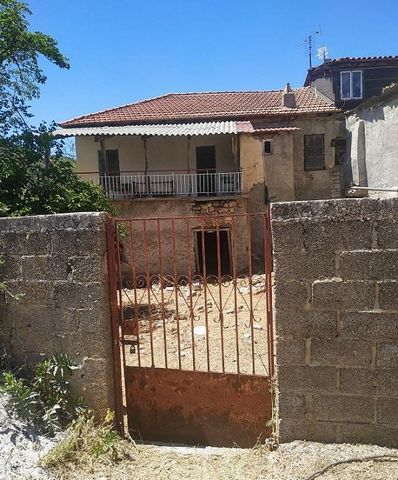 KALAVRITA Kerpini. For sale an old detached house of 160 sq.m., ground floor – 1st, corner, bright, 3 bedrooms, bathroom, stone, on a plot of 1260 sq.m., fireplace, unlimited mountain view, privately owned terrace of 50 sq.m., needs renovation. Ten m...